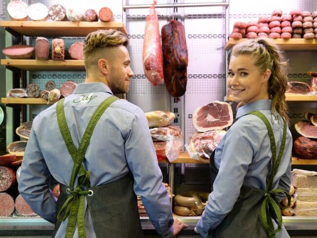 slagerskleding schorten